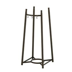 Pizza Oven Leg Kit Grill Cart Stands Outdoor Cooking Home Accessories Black