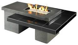 Outdoor GreatRoom Company Uptown Fire Table 24-Inch Burner