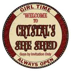 CRYSTAL'S She Shed 14