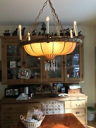 antique light fixture $299.00