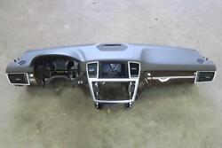 2013 MERCEDES ML350 Dash Panel browntan OEM Autogator