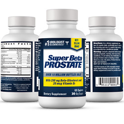 Super Beta Prostate Supplement -Reduce Frequent Urges to Urinate- NEW -FREE S $19.29