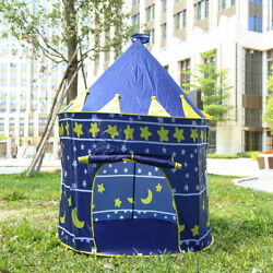 For Kids Foldable Play House Outdoor Indoor Toy Tent Castle Cubby Large Space