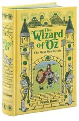 The Wizard of Oz Collection by L Frank Baum Leather Book Novels Series Set Lot