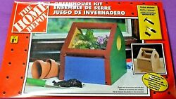The Home Depot Kids Greenhouse Kit Project Ages 8+  NIB