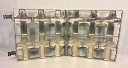 Antique Religious Crosses Chocolate Mold Stainless Steel