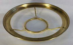 New 7quot; Fitter Solid Brass Shade Ring Holder For No. 2 Queen Burners #SR722 $47.24