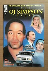 HE SAIDSHE SAID COMICS #5 : THE O.J. SIMPSON STORY