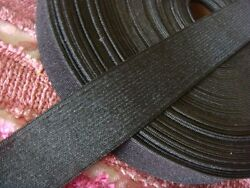 2 yards black knitted wide elastic band for skirt or pants 1 1 4quot; US SHIPPER $5.79