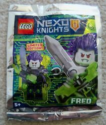 LEGO - Nexo Knights - Rare - Fred Minifig Foil Pack 271826 - New