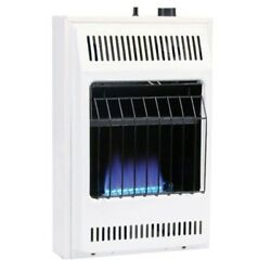 10000 BTUhr Blue Flame Propane Gas Heater with Automatic Thermostat