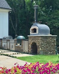 Portuguese Brick Pizza Oven 3.0 - NEW GENERATION Outdoor Wood Fired Pizza Oven
