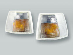 DEPO Dual Bulb Clear Corner Lights Parking Lamps PAIR fits 1994 1997 VOLVO 850 $53.90