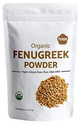 Fenugreek Powder Methi Organic Supports Lactation Hair Care 4816 oz 1 lb $11.99