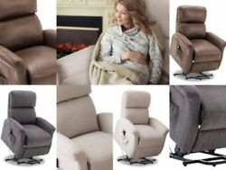 Medical Electric Power Lift Sofa Chair Recliner Seat wRemote Soft