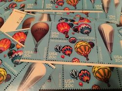 12  Vintage Balloon stamps  For Holiday Wedding And Dressing Up Your Mail