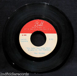 THE TOKENS-Rare Metal AcetatePre-Production Pressing 45-She Let's Her Hair Down