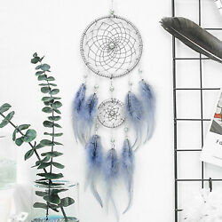 18quot; Dream Catcher Handmade Feather Car Wall Hanging Room Ornament Craft Gift $8.39