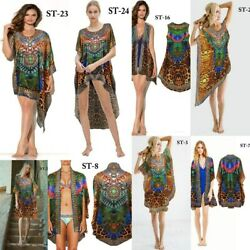Boho DIGITAL PRINT WHOLESALE LOT 50 ASSORTEd KAFTAN SHORT WOMEN BEACH