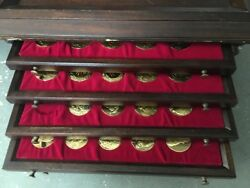 The Masterpieces of Rubens Medals Collection 100pc 24k Gold Electroplated Coins