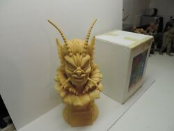 She Creature bust from the big head series casted by Earthbound Studios in resin