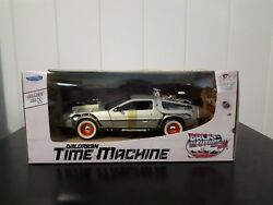 Vintage Back To The Future III Delorean Time Machine Diecast 1:24  Welly 1980S