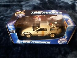 Vintage Back To the Future II Delorean Time Machine Diecast Welly 1980s