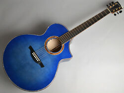NEW HISTORY NT-CFM EBU Acoustic Guitar with Hard Case Free Shipping
