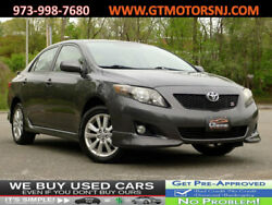 2010 Toyota Corolla 4dr Sedan Automatic S 4dr Sedan Automatic S SPORT LOW MILES WELL MAINTAINED!!! Unspecified Gasoline 1.