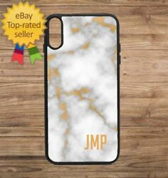 Custom White Marble Phone Case for iPhone Galaxy 5 6 7 8 9 X XS Max XR