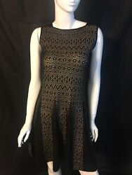NWT! She's So Made in Italy Luxe Designer Sleeveless Dress [SZ 42] #N698