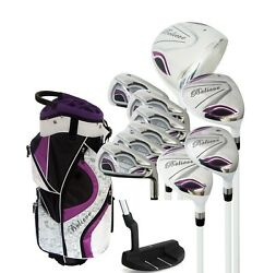 Founders Club Believe Ladies Womens Complete Golf Club Set with Bag Head Covers $329.00