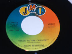 ALLEN REYNOLDS NM Back To The Country 45 If She Just Helps Me JMI-13 vinyl 7