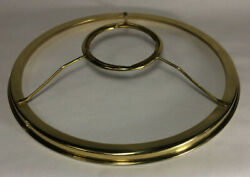 New 10quot; Fitter Solid Brass Shade Ring Holder For Rayo amp; Central Draft Burner 731 $62.52