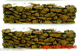 Dept. 56 Stone Wall Set of 2 Heritage amp; Snow Village 52629 $9.90