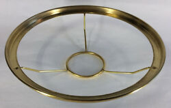 New 10quot; Fitter Solid Brass Shade Ring Holder For No. 2 Queen Burners #SR734 $56.26