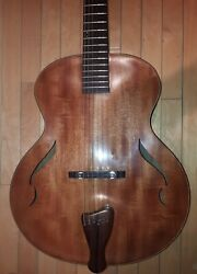Blueberry Special Order Nine String Arch Top Guitar 90 Day Delivery