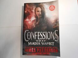 Confessions of a Murder Suspect by James Patterson and Maxine Paetro Signed ARC