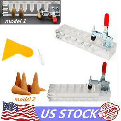 Cone type backflow scent Incense mold Conical Acrylic Mould DIY Mold making tool