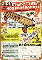 Metal Sign Flexy Racer Vintage Look Reproduction $27.95
