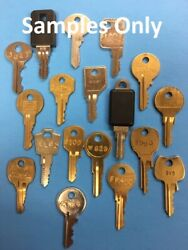 New Replacement Desk and File Cabinet Keys $7.99