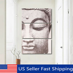 3Pcs Set Modern Buddha Canvas Print Painting Home Wall Decor Unframed  Framed !