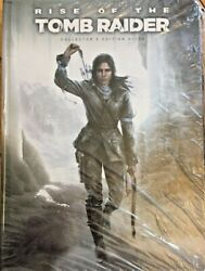Rise of the Tomb Raider Collectors Edition Guide Prima Games + E Guide NEW