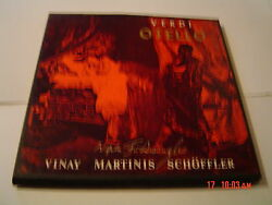 M-n WILHELM FURTWANGLER RARE VERDI OTELLO PRIVATE RECORDING  lp vinyl m- nm