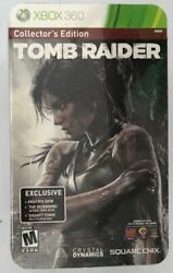 Tomb Raider Collector's Edition (Xbox 360 2013) FACTORY SEALED!