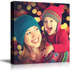 Wall26 Custom Canvas Prints Personalized Photo Picture to Canvas Print Wall Art $17.59