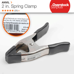 ANVIL 2 in. Spring Clamp with Vinyl Tips