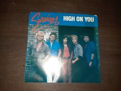 45 RPM RECORD SURVIVOR HIGH ON YOU