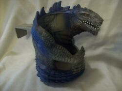Godzilla Movie Big Cold Drink Cup Holder for Car 1998 Toho - Taco Bell Promotion