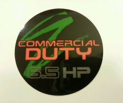 Reproduction lawn boy 6.5hp duraforce commercial push model 22260 recoil decal